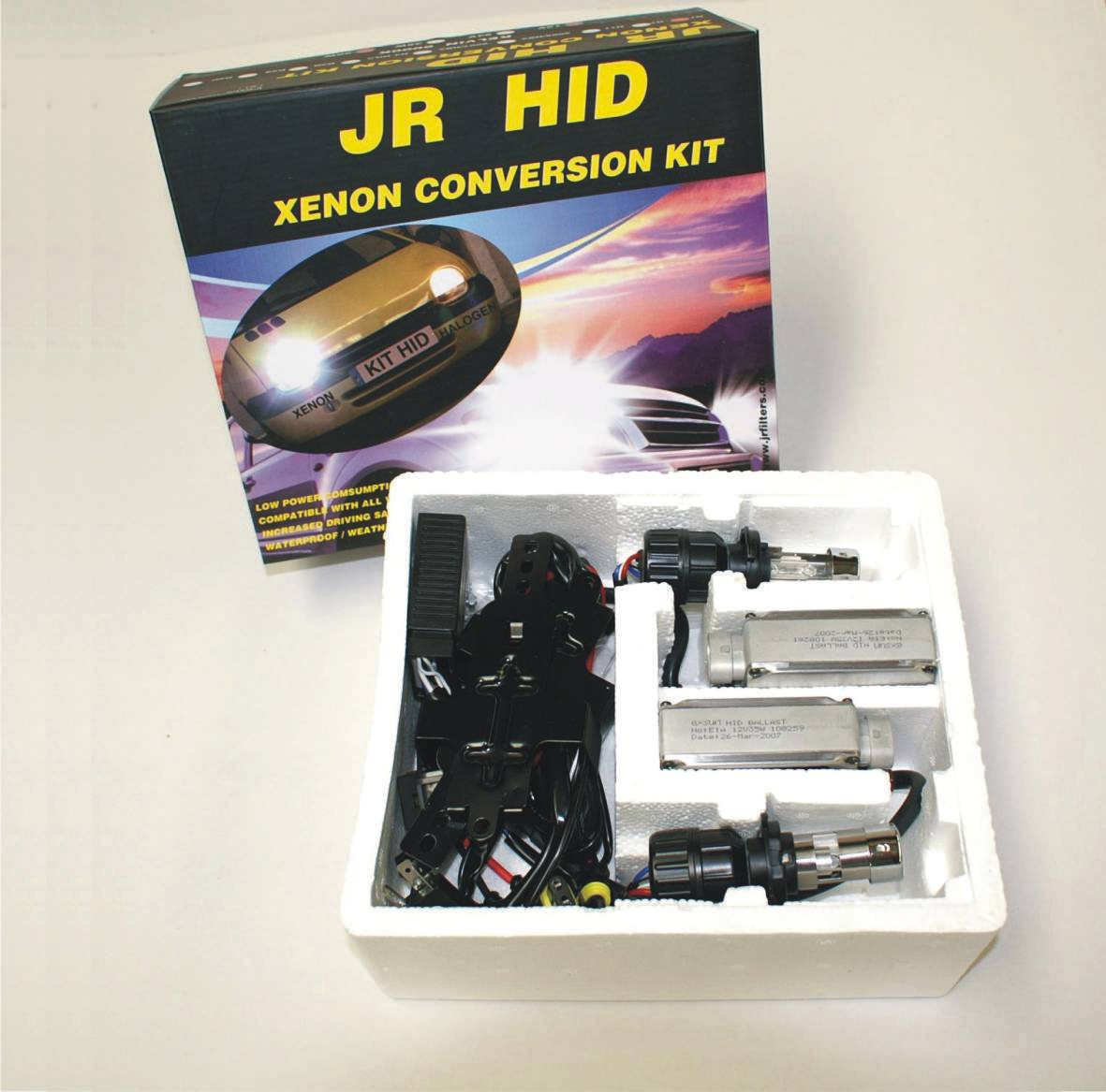 KIT HID AUTO AVEC/WITH 3e AMPOULE JRHIDH11/3